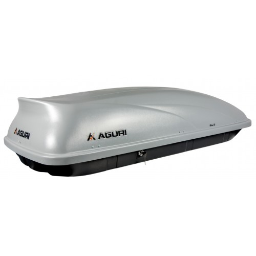 Box dachowy Aguri Wind 43 srebrny matowy