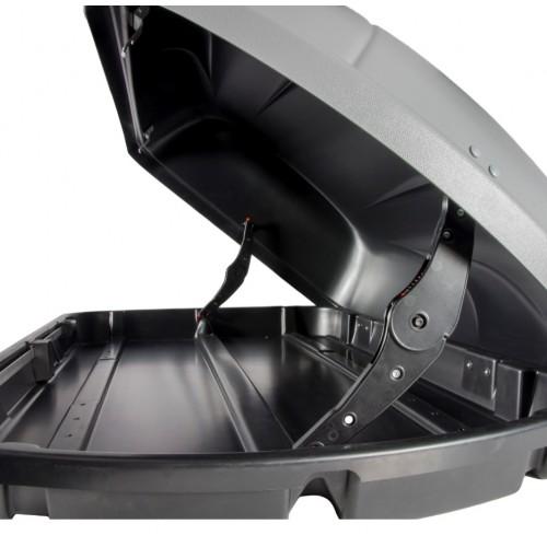 Box dachowy Aguri Wind 43 srebrny połysk