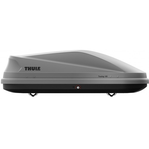 Thule Touring M Srebrny Carbon - box dachowy