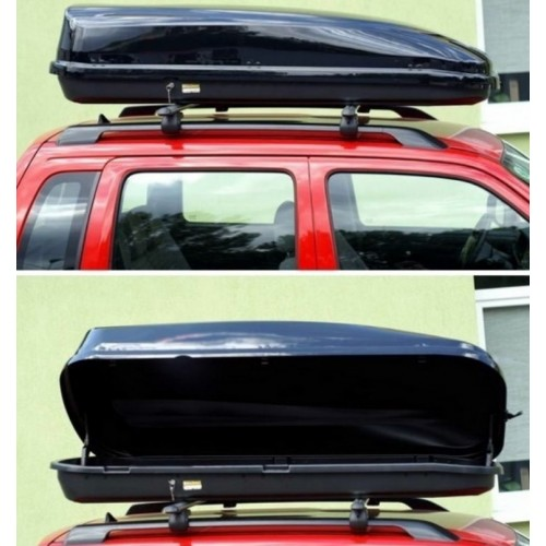 Box  dachowy Sportac  Pre Line 480 czarny metalik