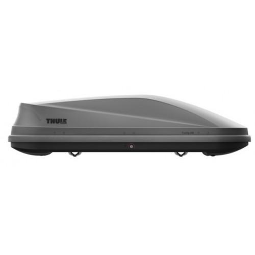 Thule Touring M Srebrny Carbon - box dachowy