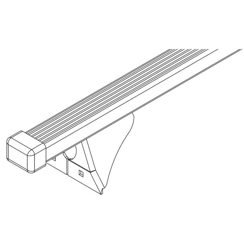 Belki bagażnika Cruz SFix120 (921-380) stalowe