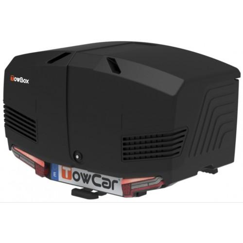 Box bagażowy na hak TowBox V3 Led Edition czarny