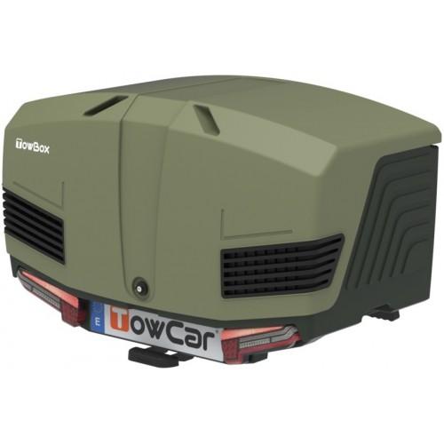 Box bagażowy na hak TowBox V3 Led Edition zielony