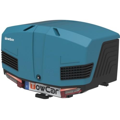 Box bagażowy na hak TowBox V3 Led Edition niebieski