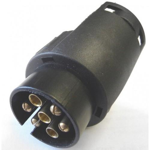Wtyczka redukcyjna adapter 7/13 pin