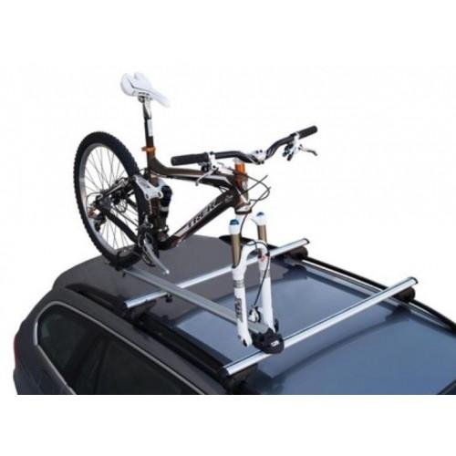 Uchwyt rowerowy na dach za widelec aluminiowy Bike Pro